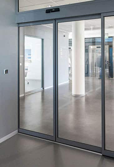KONE automatic sliding doors are a compact, durable and energy efficient solution for wide variety of buildings.